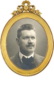 Alfred Dahlström 1863-1945, Sveriges Dövhistoriska Sällskap