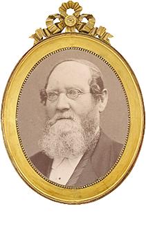 Ossian Borg 1812-1892, Sveriges Dövhistoriska Sällskap